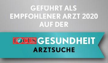 Focus Auszeichnung 2020
